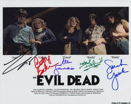 Evil Dead Full Cast Signed Photo 8X10 Rp Autographed Bruce Campbell + All - $19.99