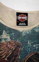 Harley Davidson Of Rehoboth Beach Delaware XL US Flag Womens embellished Blouse  image 8