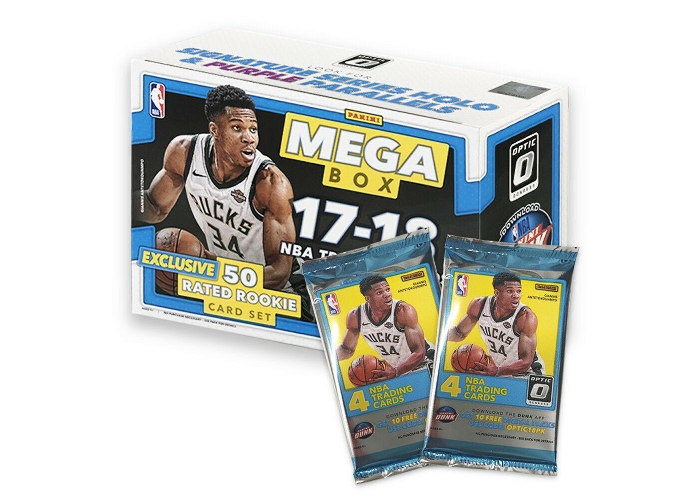 2017-18 Panini Prizm NBA Basketball MEGA BOX SEALED 50 Rated Rookie Card