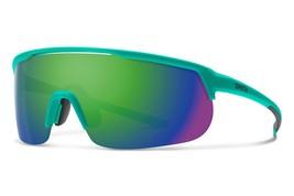 Smith Optics Trackstand Sport Sunglasses ChromaPop Matte Jade/Green Mirror - $159.99