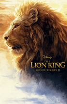 Lion King 2019 Disney Movie Club Exclusive Poster – NEW-Free SHIPPING w/... - $33.75