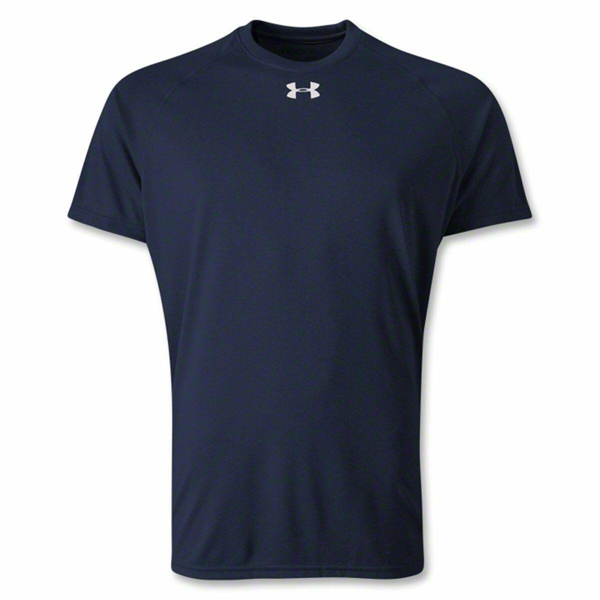 NEW Under Armour Men's UA HeatGear Tech Short Sleeve Training T-Shirt Large