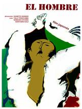 El Hombre, The Man vintage movie POSTER.Room design.Wall Art Decoration.... - $10.89+