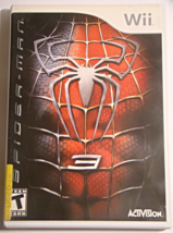 Nintendo Wii - SPIDER-MAN 3 (Complete with Manual) - $8.00