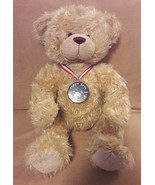 BUILD A BEAR tan TEDDY BEAR Centennial Collectibears MAXINE CLARK plush ... - $13.45