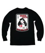 Iron Ace Hotrod Seats Pin Up Girl Bombshell T-Shirt Size Adult Small Bla... - $19.75
