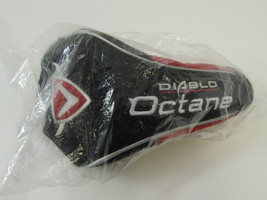 NEW IN PLASTIC CALLAWAY DIABLO OCTANE DRIVER HEAD COVER - $9.85