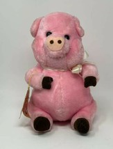 "Russ Berrie LUV PETS Plush Piggy Pig Stuffed Animal Toy Vintage 1979 10""... - $16.83"