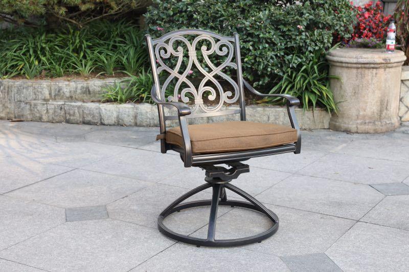 Brand New Patio - 9 pieces set cast aluminum outdoor furniture