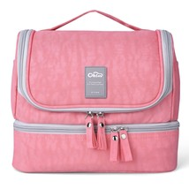 Designer Hanging Toiletry Bag| Travel Cosmetics Bag by HANKCLES| Waterpr... - $49.95