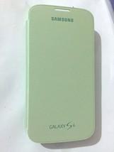 Samsung  Flip Cover For Galaxy S4 - Green - Genuine Samsung - EF-FI950BG... - $1.99