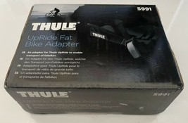 """Thule Fat Bike Adapter Cradle 5991 for Thule UpRide 3-5"""" Roof Carrier NEW in Box image 2"""