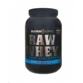 RAW Supps - Raw Whey - Vanilla -2.27kg
