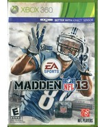 Madden NFL 13 (Microsoft Xbox 360, 2012) No Manual - $3.95