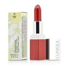 Clinique Pop Lip Colour + Primer - # 06 Poppy Pop  - $40.00