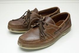 Allen Edmonds Eastport 8 Brown Boat Shoes Men's - $68.00