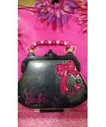 Barbie hard plastic purse shaped stuff holder! $20 shipped free in USA o... - $20.00
