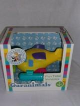 Garanimals Fun Time Vehicles Yellow Seaplane Wind up Bath Toy 3+ New Sea... - $17.99