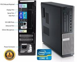 LOT 6 Dell 790 Desktop Computer Intel Core i5 2400 QC 3.10GHZ 250gb HD 8gb Ram - $1,342.88
