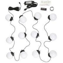 LED Globe Umbrella Lights (8 globe lights) image 3