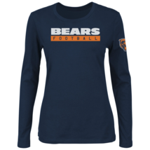 Majestic Womens NFL Never Let It Rest Long-Sleeved Tee Bears M #NINGN-321* - $24.99