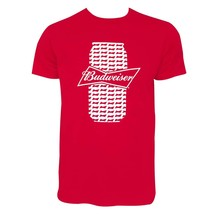 Budweiser Beer Can Tee Shirt Red - $29.98+