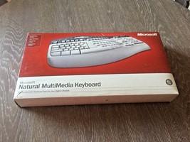Microsoft Ergonomic Keyboard Natural MultiMedia Keyboard 1.0A  RT9470 Gr... - $1.069,37 MXN