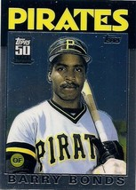 2001 Topps Reprint Barry Bonds #T114 11T Rookie Card Topps 50 Years - $3.00