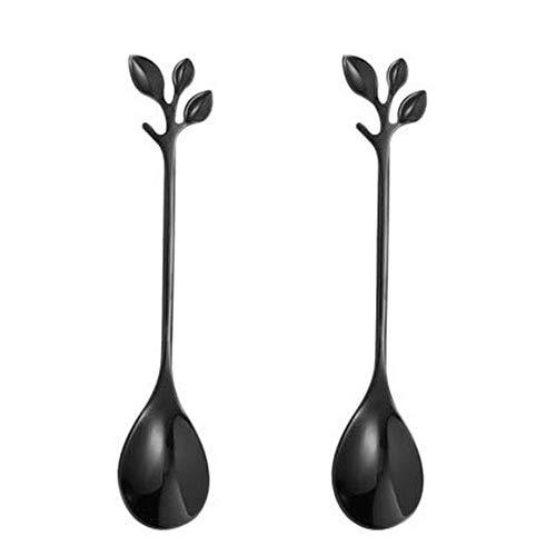 Gentle Meow 2 Stainless Steel Delicate Creative Dessert stir Spoon Coffee Spoon, - $21.57