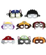 WakaParty® 8 pcs/set Safari Jungle Animal Eye Masks Kids Birthday Party ... - $17.06