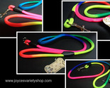 Neon color dog leash collage thumb155 crop