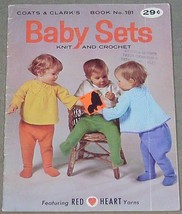 Coats & Clarks Baby Sets Knit and Crochet Book No. 181 - $4.90