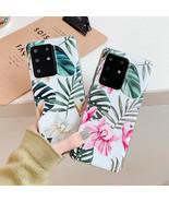 Phone Case Samsung Galaxy S20 A50 A51 S10 Plus Retro Flower Leaf Fashion... - $4.30+