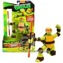 Year 2015 Teenage Mutant Ninja Turtles TMNT Action 5 Inch Figure STRIKIN... - $79.99