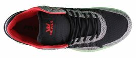 SUPRA Mens Snake Print Black Pale Green Owen Mid Sneakers Cross Trainer Shoes NW image 6