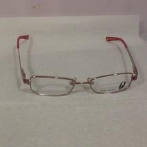 Nine West Women's Petite Girl's Eyeglass Frames Rose Gold Pink Gray 44-16-125 - $22.99