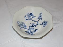 Royal Staffordshire Dynasty Ironstone J & G Meakin England Bowl White Bl... - $34.64