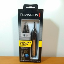 New Remington Nose Ear & Brow Dual Head Trimmer Battery Operated, with e... - $17.77