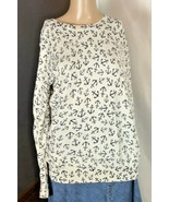 Old Navy Women's Sweater Size M Anchors Away Pullover Navy and Cream - $18.79