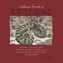 Sweatshirt Advice From a Rattlesnake Unisex S M L XL Gildan New NWT - $25.25