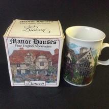 Vintage Collectible DUNOON Scotland MANOR HOUSE Mug Boxed - $19.79