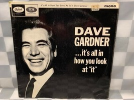 Dave Gardner It's All IN How You Look At It Mono LP Record Álbum Vinilo - $10.41