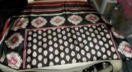 Vera Bradley Classic Black silk scarf  #2 - $23.50