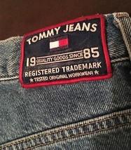 Vintage 90's Tommy Hilfiger mens denim shorts size 29 waist  - $22.49