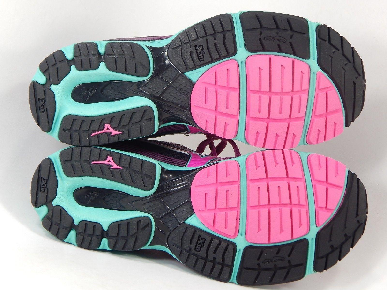 Mizuno Wave Sayonara 3 Size US 7 M (B) EU 37 Women's Running Shoes Black Purple