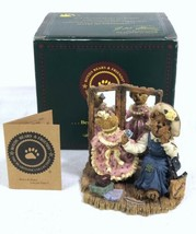 """Margaret W Kristen There Goes The Budget"" Boyds Bears Bearstone Figurine 228354 - $9.79"