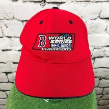 World Series Champions Mens One Sz Hat Red Adjustable New Era Baseball Cap - $19.79