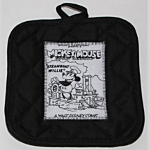 Pan Holders - Appliqued - Steamboat Willie - Set of 2 - Free Shipping - $5.50