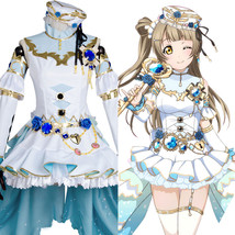 Love Live!Minami Kotori Cosplay Costume Outfit Birthstone Party Dress Uniform - $84.61+