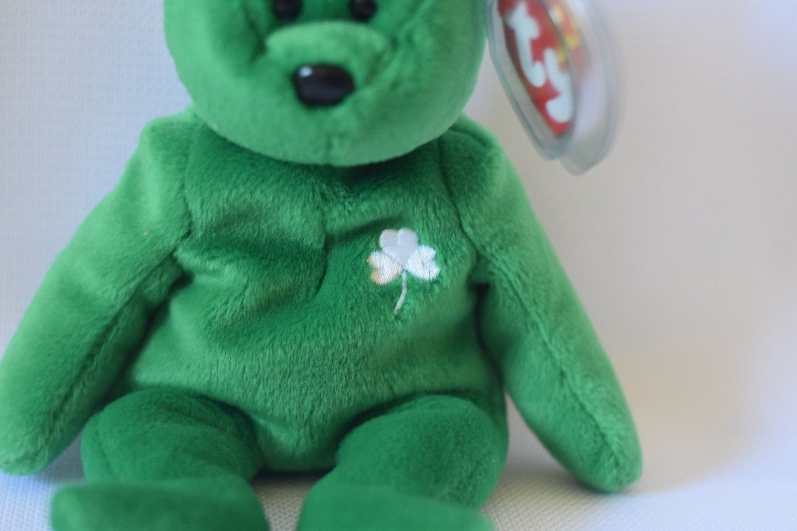 7499346efe0 Beanie Baby Erin ty shamrock with errors and 50 similar items. S l1600